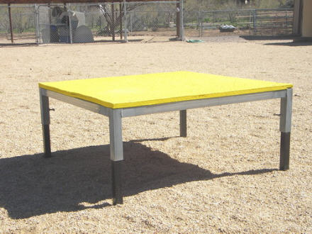 Dog Agility Pause Tables - Practice Grade